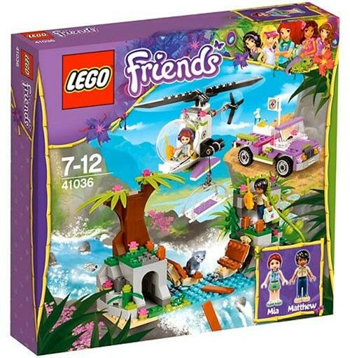 LEGO Friends 41036 Jungle Bridge Rescue 41036 Nuovo In Box Sealed
