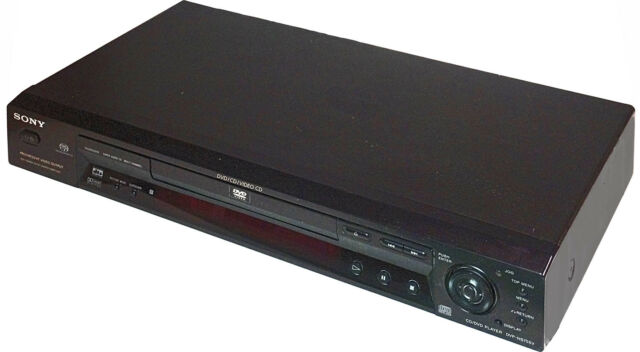 Sony SACD / CD / DVD player DVP-NS755V (not working properly with HYBRID SACDs)