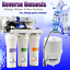 5Stage 10filter Compact Reverse Osmosis System-RO Unit /&DI 50GPD Pump Available