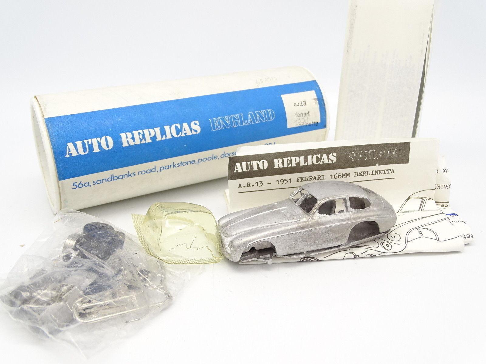 Auto - repliken set zum zusammenbauen 1   43 - ferrari 166 mm 1951