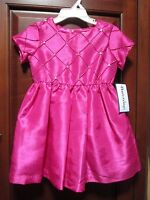 Hartstrings Girls Pink Dress Party Toddler Orig $74 Gorgeous