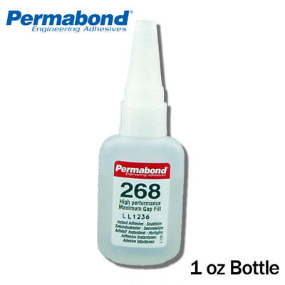 Genteel Permabond 268 Medium-thick For Difficult Plastics&rubbers In Pain 1oz Bottle