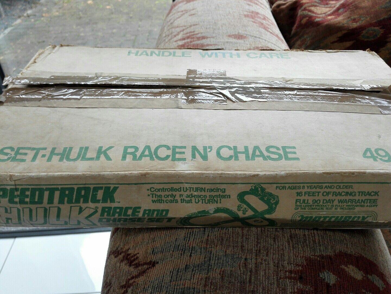 NEW UNUSED MATCHBOX HULK RACE N CHASE MEGA MEGA RARE