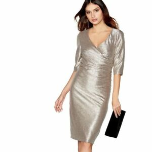 ex-Debut-Gold-Faux-Wrap-Knot-Occasion-Party-Cocktail-Midi-Dress