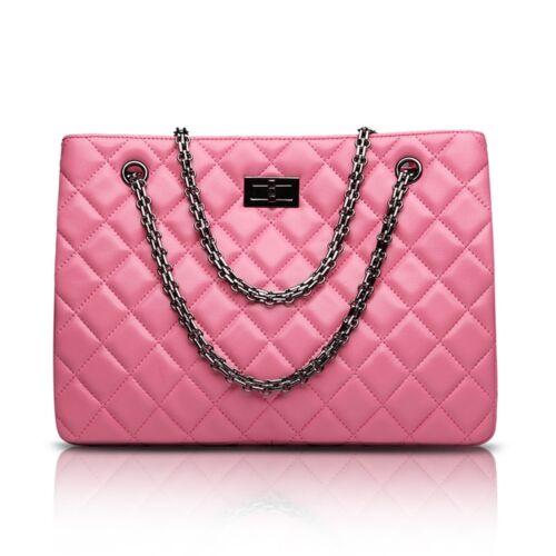 Schulter Korea Echtes Tasche Kette Lammleder Leder Damen Schafsfell Handtasche 66AxUw8Cq