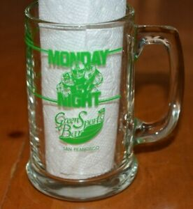 MONDAY-NIGHT-FOOTBALL-SAN-FRANCISCO-49ERS-VS-CHICAGO-BEARS-1988-GLASS-MUG-STEIN