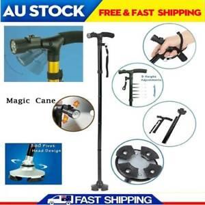 Adjustable Cane Portable Anti Shock Telescopic Walking
