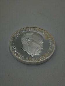 MUNZE-MEDAILLE-1-DEUTSCHER-BUNDESKANZLER-KONRAD-ADENAUER-2001-SILBER-999
