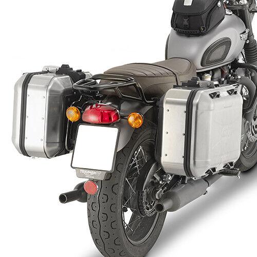 Givi Luggage Rack Side Triumph Bonneville Cod Pl6410 For Sale
