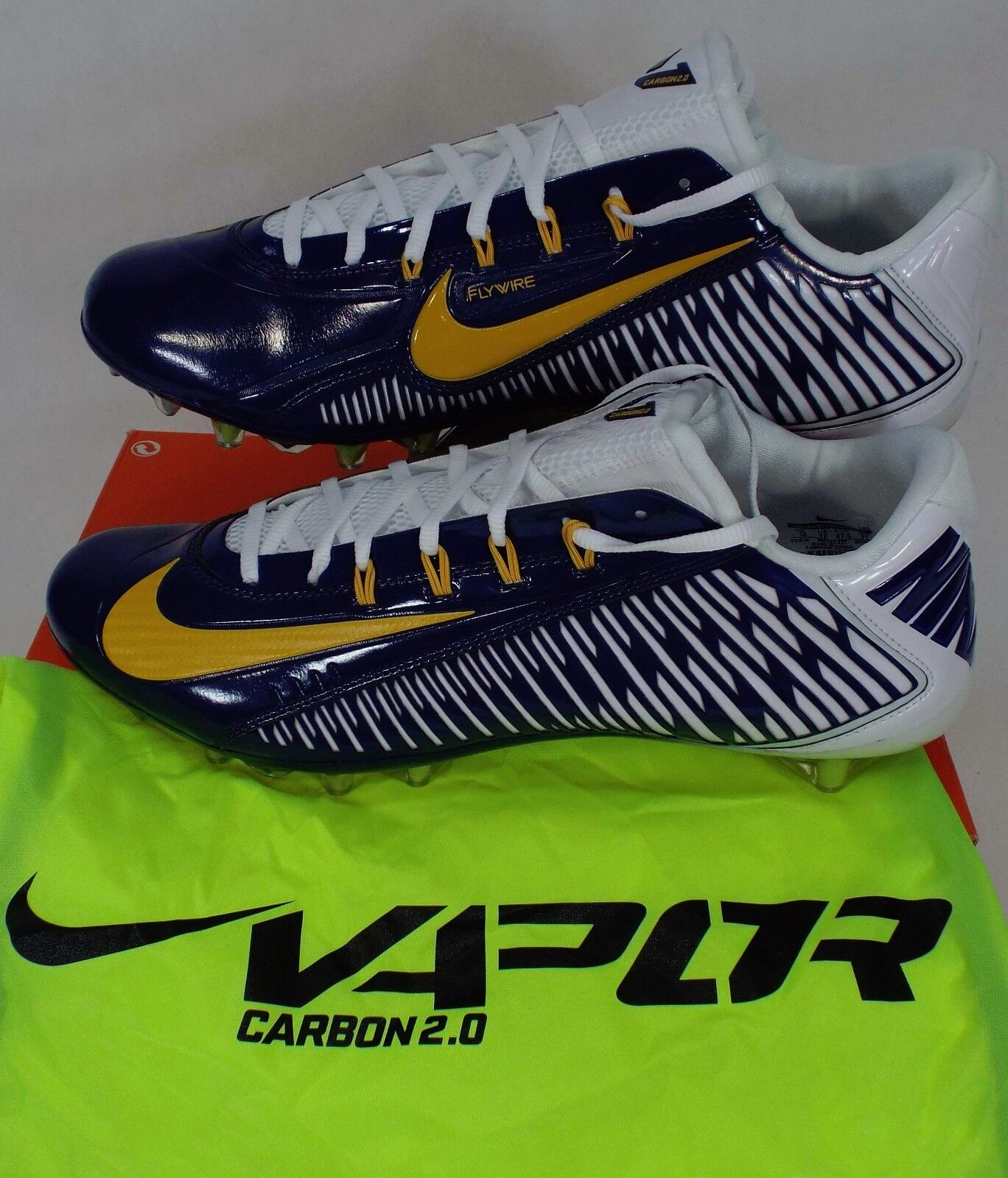 Nuevo Hombre Carbon 13 NIKE Vapor Carbon Hombre Elite 2018 TD PF Navy Botines Zapatos   657441 -427 8ccf8d