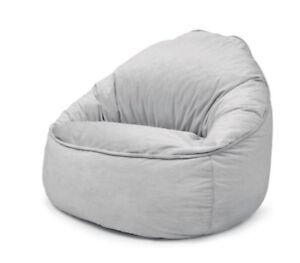 Astonishing Details About New Kids Chair Beanbag Bean Bag Cover 150 Litre Bean Skin Grey Cjindustries Chair Design For Home Cjindustriesco