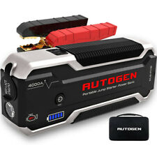 27000mah Car Jump Starter 4000a Booster Battery Charger Power Bank Jumper Box