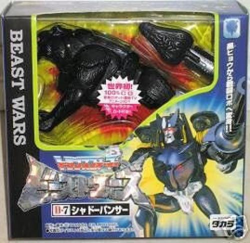 Neue transformatoren Besteie kriege d - 7 schatten panther spielzeug japan hobby japanische geschenk f   s