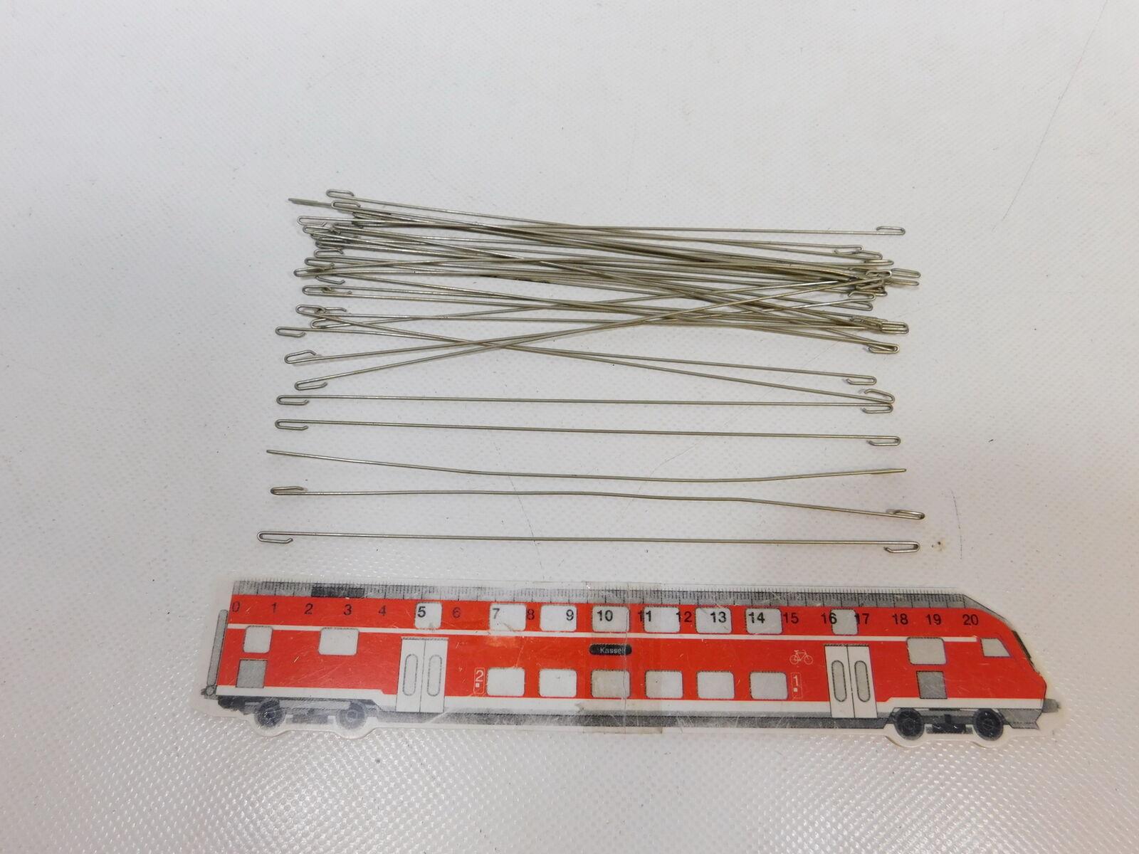 CA851-0, 5  30x Hamo H0 Piezas de Alambre (19cm) para Catenaria, Muy Buen