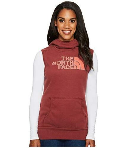 New With Tags Womens The North Face Half Dome Fleece Hoodie Vest Jacket