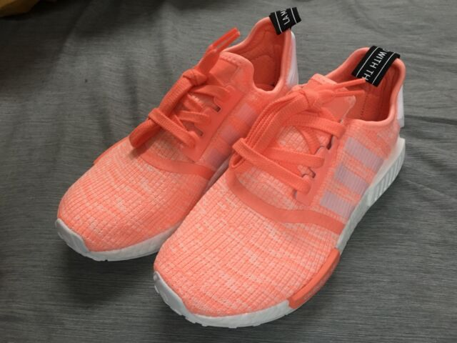 4eb14ca28fa06 adidas NMD R1 W By3034 Women Sun Glow Pink Authentic Boost for sale ...