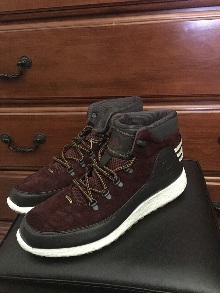 ADIDAS D ROSE LAKESHORE BOOST D69613 SUEDE BOOTS NO YEEZY NMD ULTRA ZX Price reduction