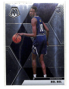 2019-20 Panini Mosaic #222 Bol Bol rookie RC card Nuggets