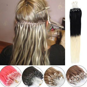 100-Ombre-EXTENSIONS-A-FROID-EASY-LOOP-CHEVEUX-100-NATURELS-LOOPS-REMY-40-65cm