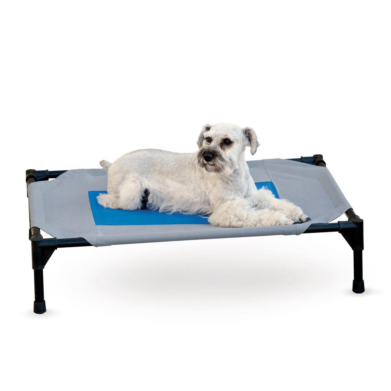 vendita di fama mondiale online K&H K&H K&H Manufacturing 25  x 32  x 7  Coolin Gel Pet Cot Medium - up to 150 lbs  ti aspetto
