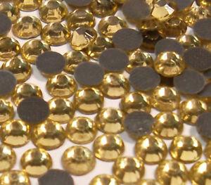 350-Hotfix-Strasssteine-4mm-SS16-GELB-GOLD-GLAS-STRASS-Buegelsteine-BEST-33
