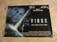 Virus Movie Poster Jamie Lee Curtis Poster, William Baldwin Poster Sci Fi