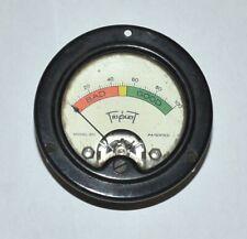 Triplett Model 221 Panel Meter From Vintage Readrite Tube Tester