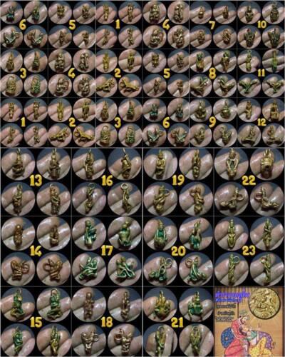 Kama Sutra Soul Mate  Phra Arjarn O Thai Amulet Charm Love Call Couple 12th Post