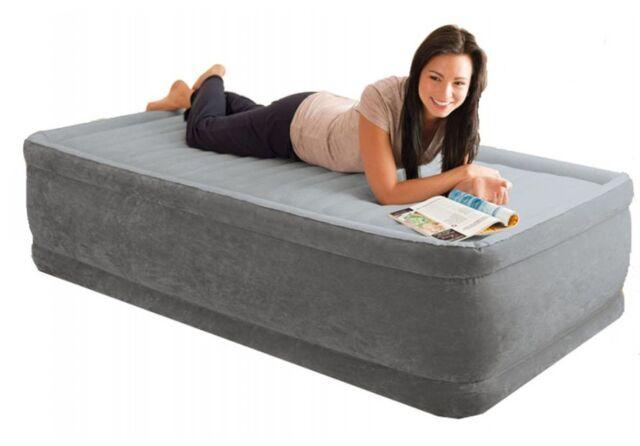 Intex letto materasso gonfiabile con pompa singolo dura deam