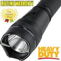 ViperTek 395 Million Volt SUPER Heavy Duty Stun Gun w/LED Light + Taser Case