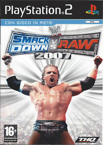 WWE-SMACKDOWN-VS-RAW-2007-for-Playstation-2-PS2-PAL-Italian
