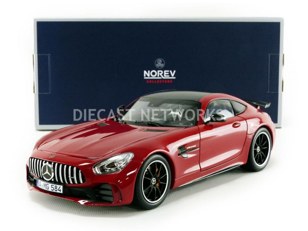 Mercedes - benz amg gt - r norev 2018 rot 1   18 umfang neue release