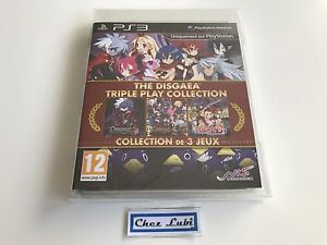 The-Disgaea-Triple-Play-Collection-Sony-PS3-FR-Neuf-Sous-Blister