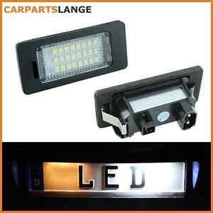 SMD-LED-SET-Kennzeichenbeleuchtung-Kennzeichen-Leuchte-BMW-kaltweiss-NEU