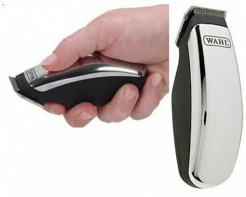 New Chrome Wahl MINI cordless Hair Pet Dog Clipper/Trimmer Face,Ears,Paws Super