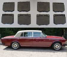 (x8) Rolls Royce Silver Wraith II Delantero Conjunto de Pastillas de freno (1976 - 80)
