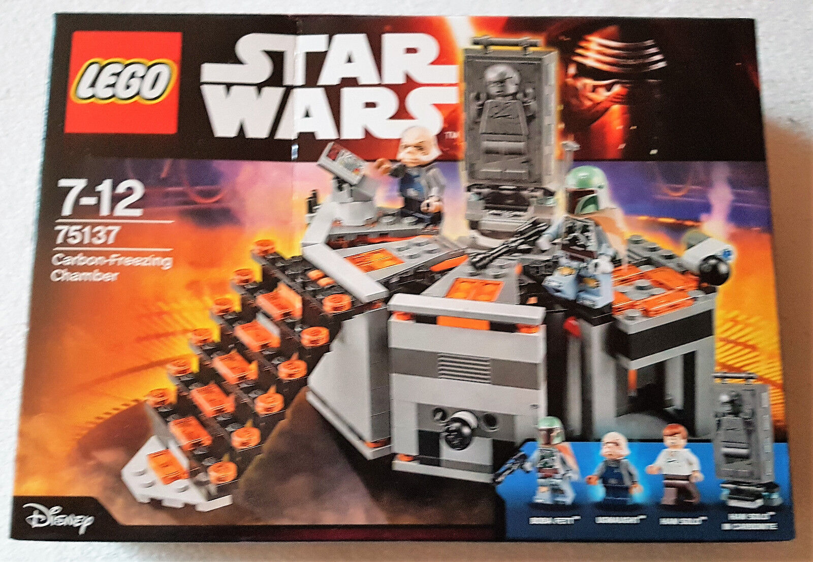 LEGO Star Wars 75137 - Carbon-Freezing Chamber NEU  OVP