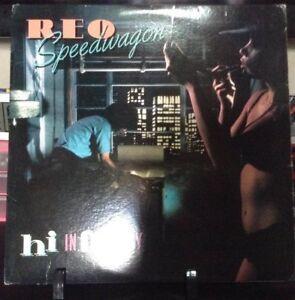 REO SPEEDWAGON Hi Infidelity Album Released 1980 Vinyl/Record  Collection USA