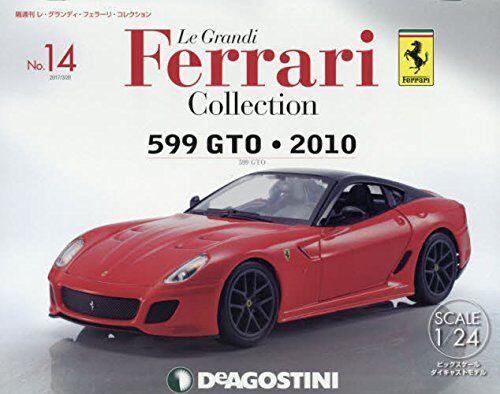 Deagostini Le Grandi Ferrari Collection No.14 No.14 No.14 1 24 599 GTO 2010 c980e6