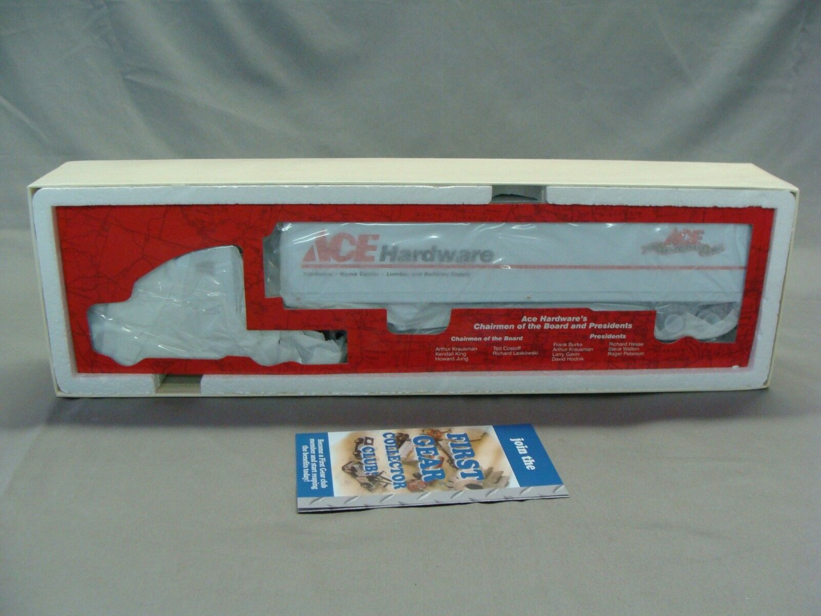 1999 Ace Hardware 75th Anniversary Freightliner Tractor Trailer Toy Truck, 1 54