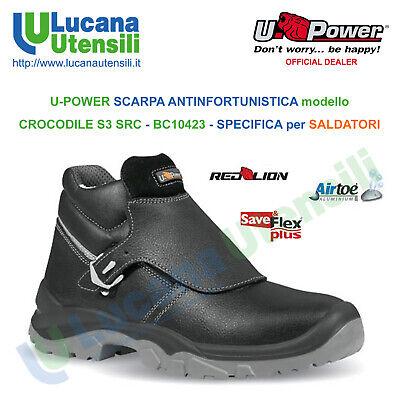 UPOWER SCARPA ANTINFORTUNISTICA model STRONG S3 CI SRC ESD Unisex Lavoro Scarpe