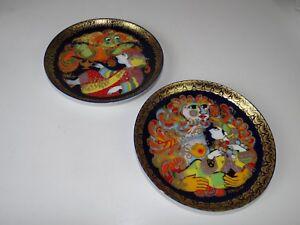 2 Rosenthal Collectionne Eller Aladins Lampe Magique Assiette 5 Et