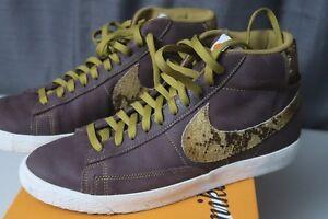 newest 0219d ce9fb Image is loading Nike-Blazer-Mid-Premium-Vintage-VNTG-QS-Mahogany-