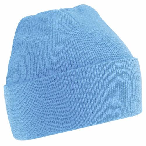 Unisex Wooly Winter Warm Mens Ladies Ski Snowboard Knitted Beanie Hat