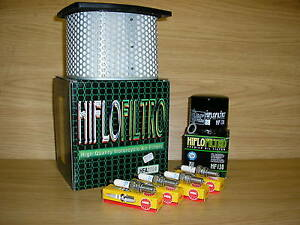 Details about GSXR750 90-91 Service Kit GSXR 750 Air Filter Oil Filter  Spark Plugs
