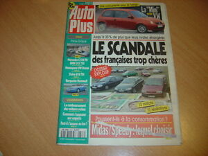 Détails sur Auto plus N°373 BMW 325 tds/C250 TD.Hommell.Volvo 850