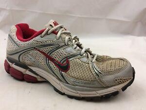 Details about Nike Equalon 3 Womens 7 M Shoes White Silver Pink 333607 Walking Bowerman Series