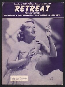 Retreat-1952-Patti-Page-Sheet-Music