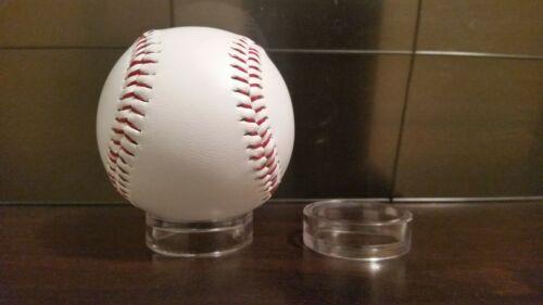 "*3 Round Half Height 1-5//8/"" Display Stand Baseballs Softballs Racket Ball Balls"