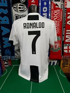 Maglia-Calcio-Juventus-2018-19-Cristiano-Ronaldo-Shirt-Trikot-Camiseta-Maillot